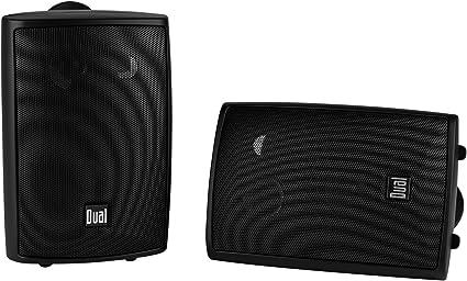 Dual 3-Way Indoor//Outdoor Speakers White LU47PW