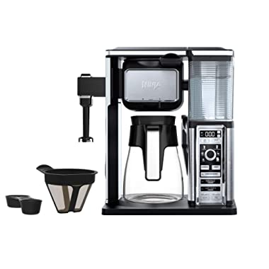 Ninja CF091 Coffee Makers, 50 oz, Silver