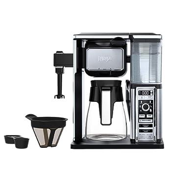 SharkNinja CF091 Coffee Makers 50 oz. Silver