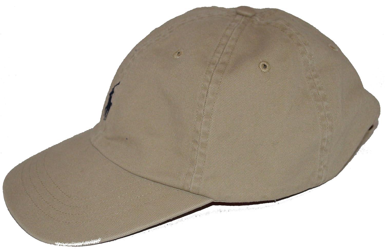 Ralph Lauren - Gorra de béisbol - para hombre beige Beige - Khaki: Amazon.es: Ropa y accesorios
