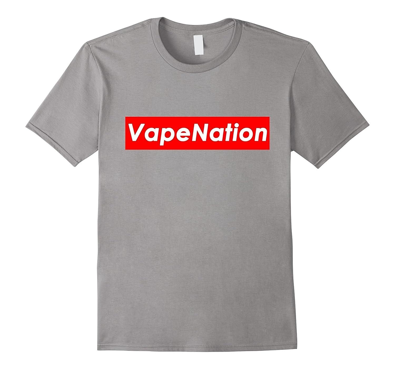 Vape Nation Shirt Funny Meme Weed Leaf White Font Vape Naysh-CD