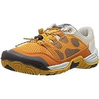 Jack Wolfskin Unisex Jungle Gym Low K Sneaker, Jaguar, 12.5 M US Little Kid