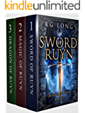Ruyn Trilogy Boxed Set : 1- Sword of Ruyn, 2 - Magic of Ruyn, 3 - Dragon of Ruyn: An Epic Fantasy Boxes Set Adventure (Legends of Gilia Boxed Set) (English Edition)