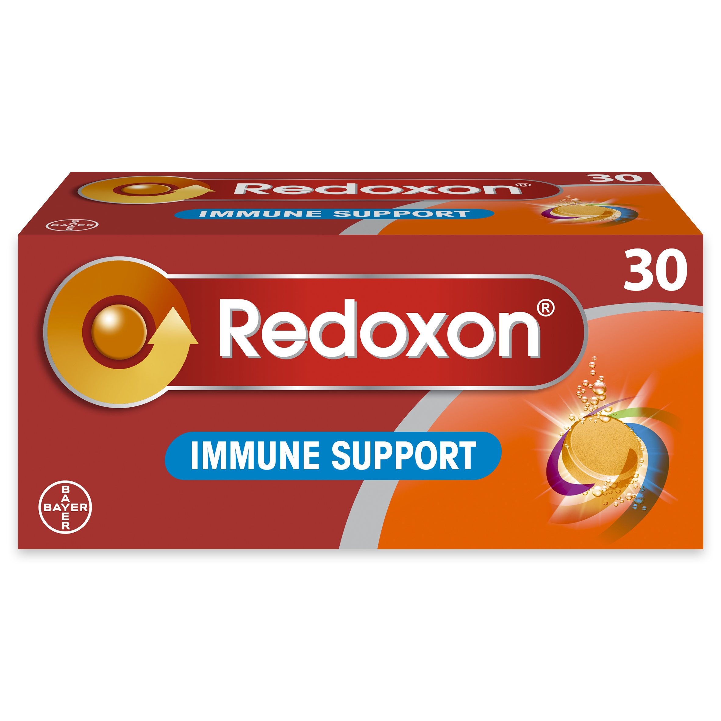 Redoxon Immune Support Effervescent Pack Of 30 Tablets