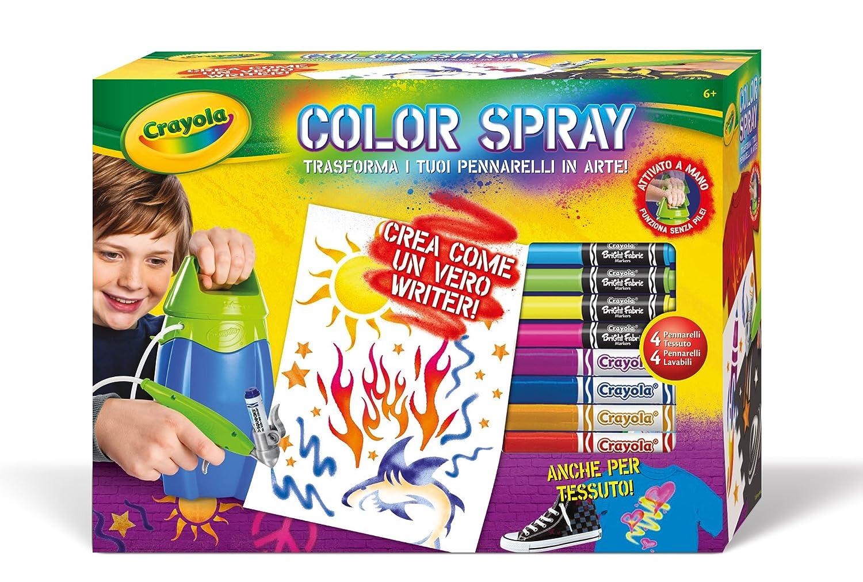 CRAYOLA 04-8733 - Color Spray Aerografo Binney & Smith Italy 04-8733-E-200 04-8733_