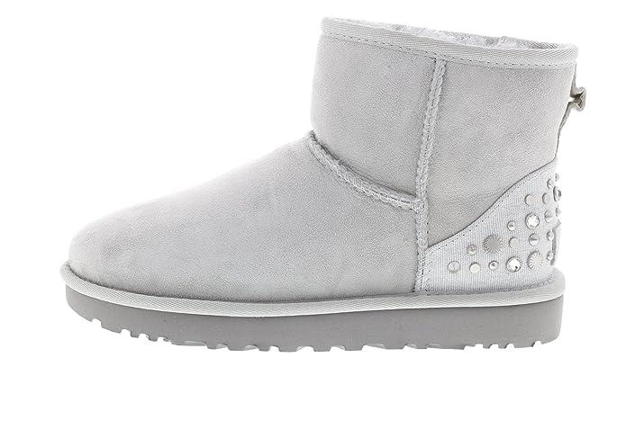 6568060e622 UGG Boots Mini Studded Bling - Grey Violet, Size:9.5 UK: Amazon.co ...