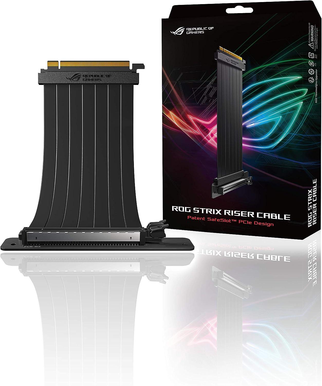 ASUS RS200 ROG Strix 240 mm PCI-E x 16 - Cable con adaptador de 90 ...