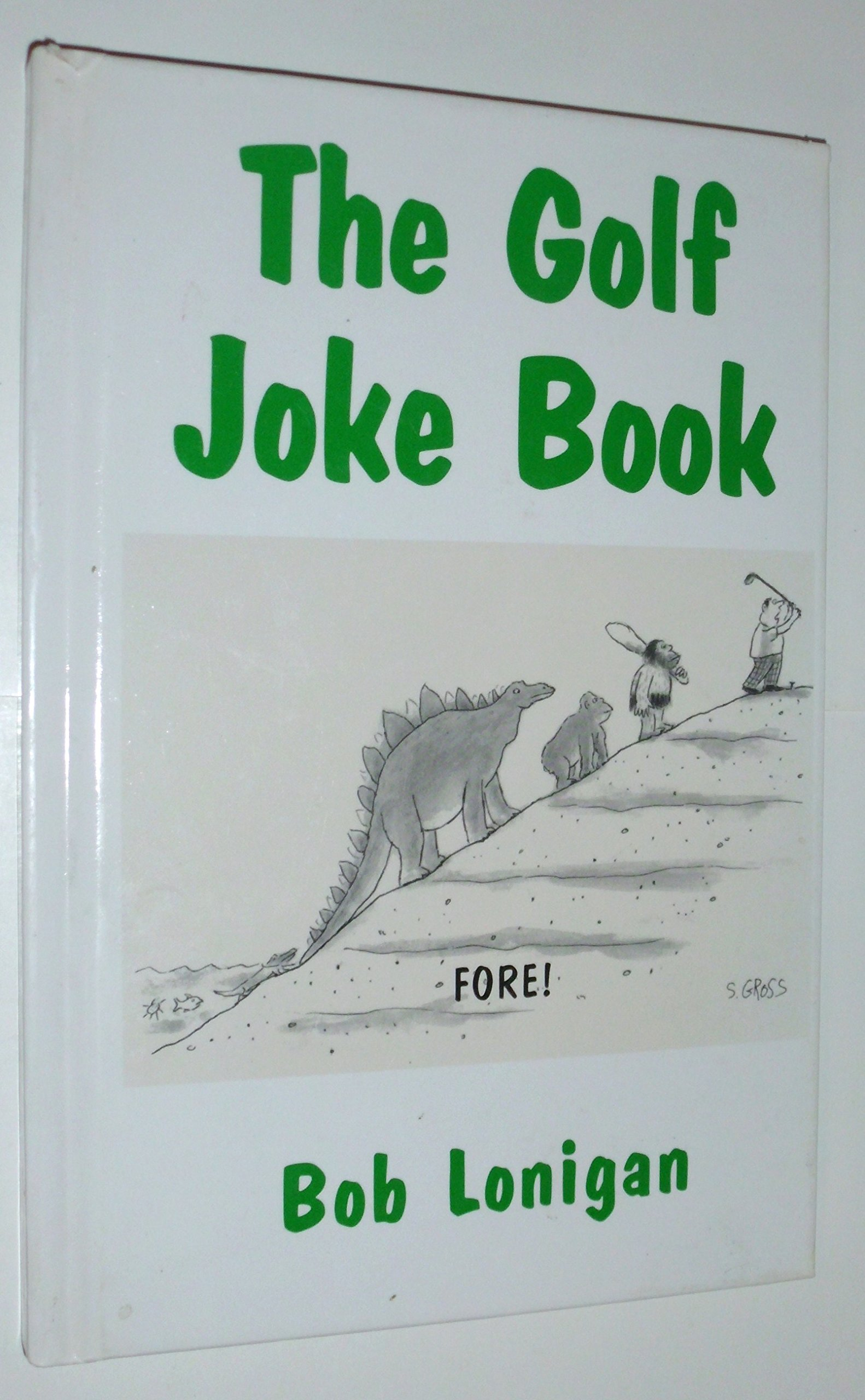 golf joke book Bob Lonigan product image