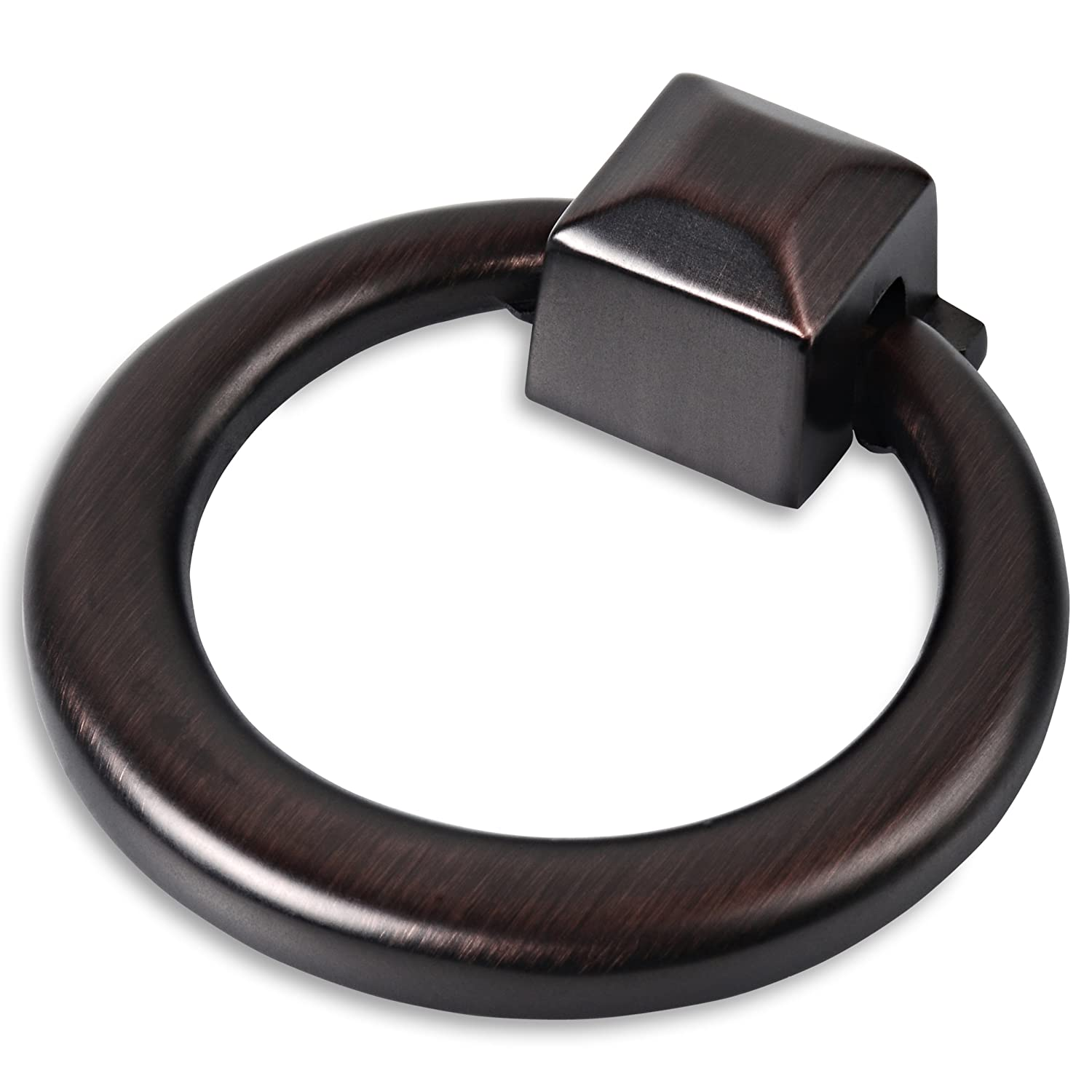 Southern Hills Oil Rubbed Bronze Ring Pulls, Pack of 5 Cabinet ...