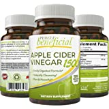 Apple Cider Vinegar 1500 - Raw, Organic ACV 1500mg Serving, 60 Day Supply