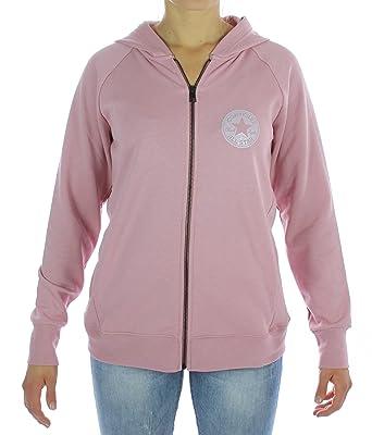 Converse Abbigliamento - Sudadera - para Mujer Rosa X-Large: Amazon.es: Ropa y accesorios