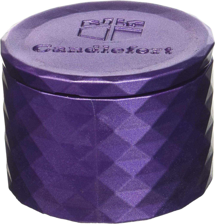 Poly I Scent Lavender Hill Violet Metallic Candellana Candles Candlefort Concrete Candle