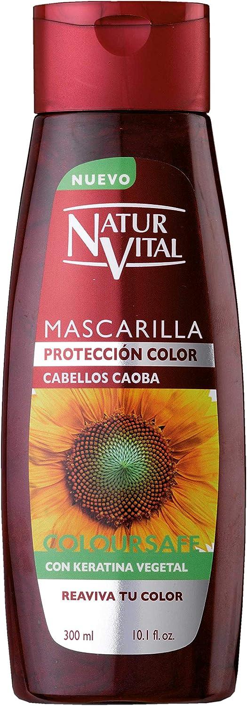 Naturaleza y Vida Mascarilla Coloursafe Caoba - 300 ml