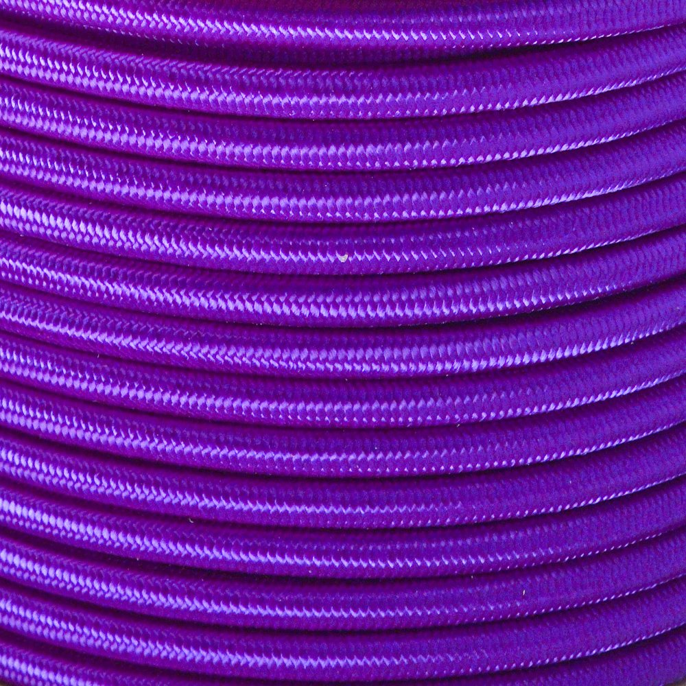 West Coast Paracord Marine Grade Shock Cord 1/4-inch - Lengths up to 1000 feet - Made in USA (50 Feet, Acid Purple)