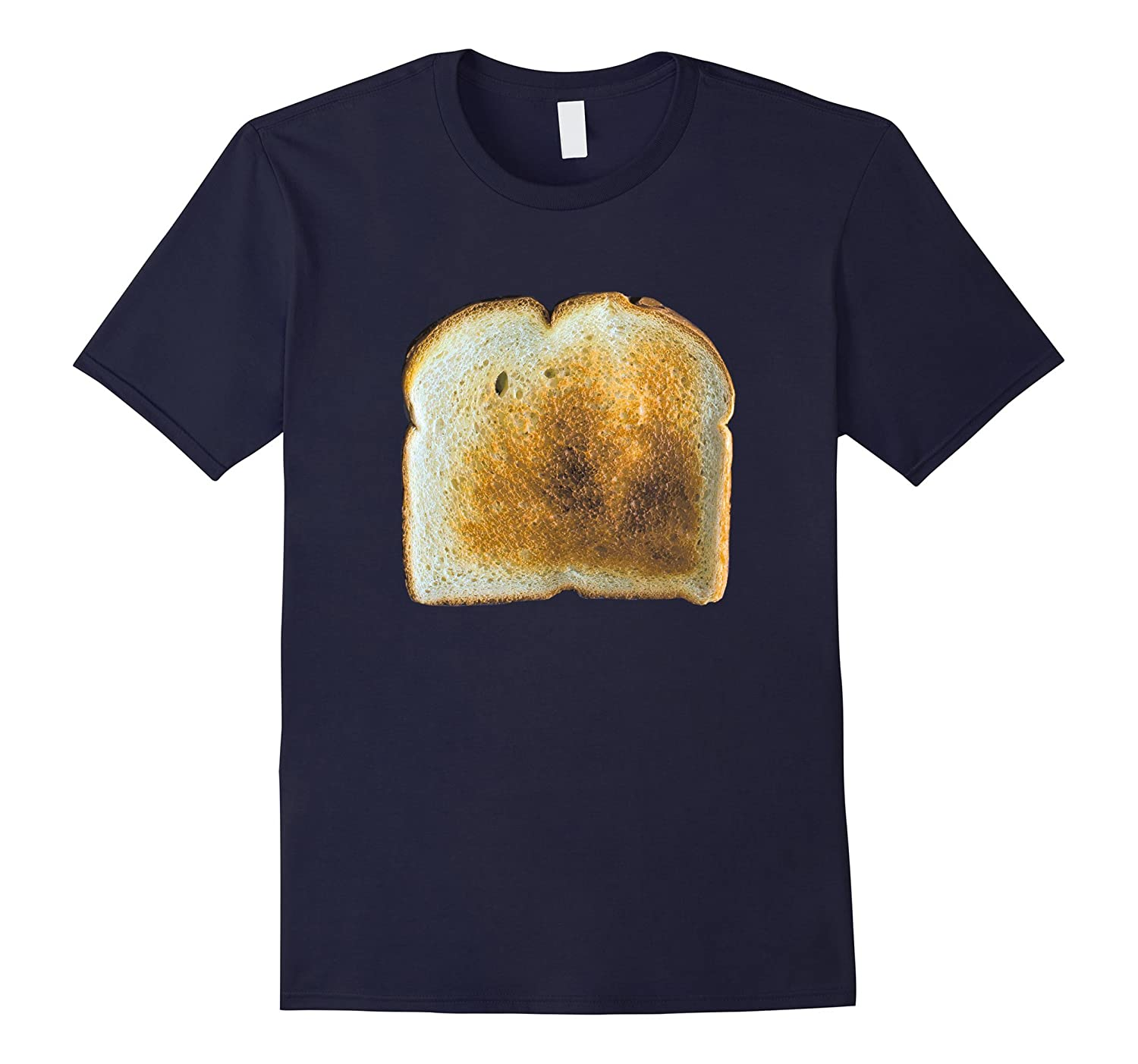 Breakfast Toast Halloween T-shirts Matching Couples Costumes-T-Shirt