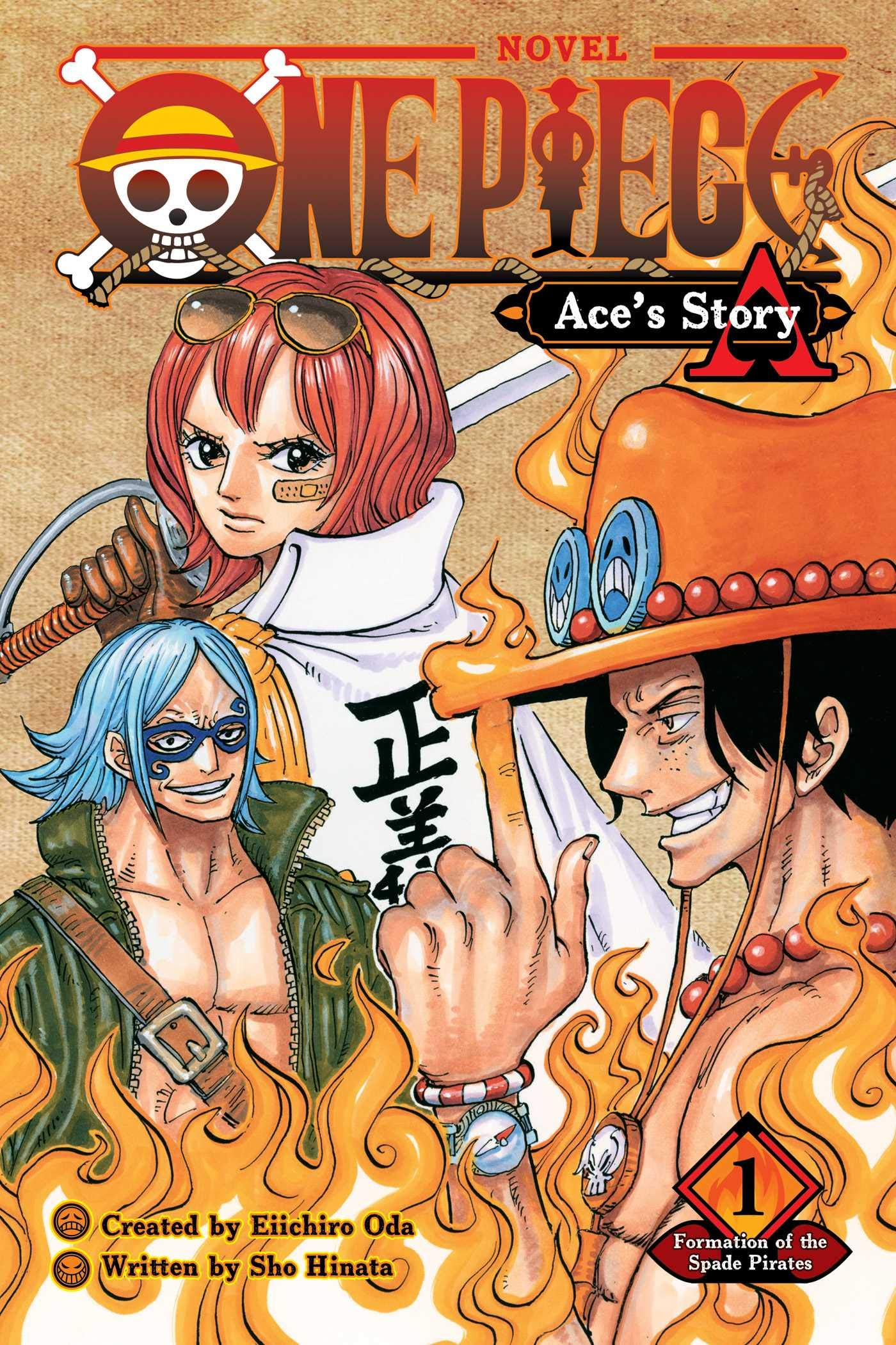 Amazon Opens Pre-Orders For One Piece: Ace's Story Vol. 1