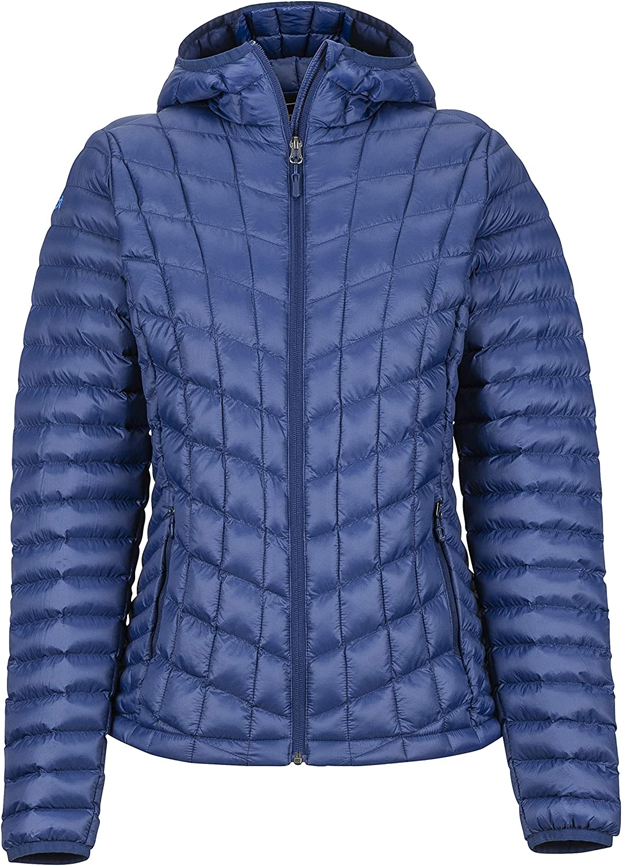 Warme Outdoorjacke Marmot Damen Wms Featherless Hoody Ultra-leichte Isolierte Winterjacke Wasserabweisend Winddicht