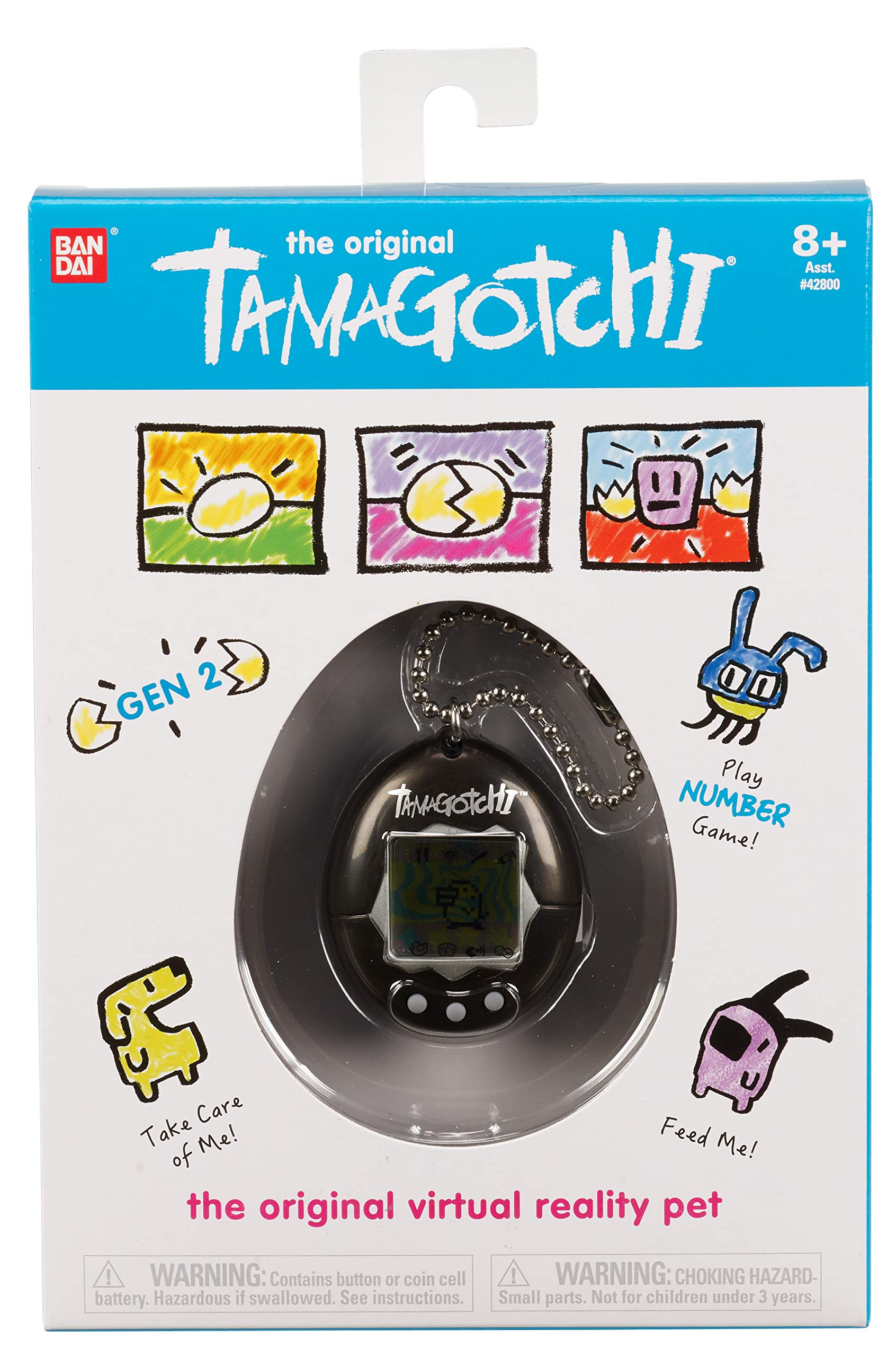 Tamagotchi Electronic Game, Black by Tamagotchi (Image #2)