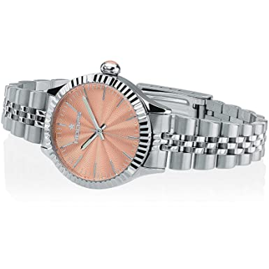 Orologio Donna Luxury Papaya 2560LS-10 - Hoops  Amazon.it  Orologi 91376c4efba