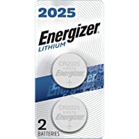 Energizer CR2025 Battery, 3V Lithium Coin Cell 2025 Batteries (2 Battery Count) - Packaging May Vary
