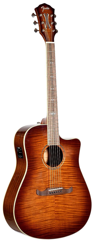 Fender T-Bucket 300CE Ice Tea Burst FSR Acoustic Electric Guitar Fender Musical Instruments