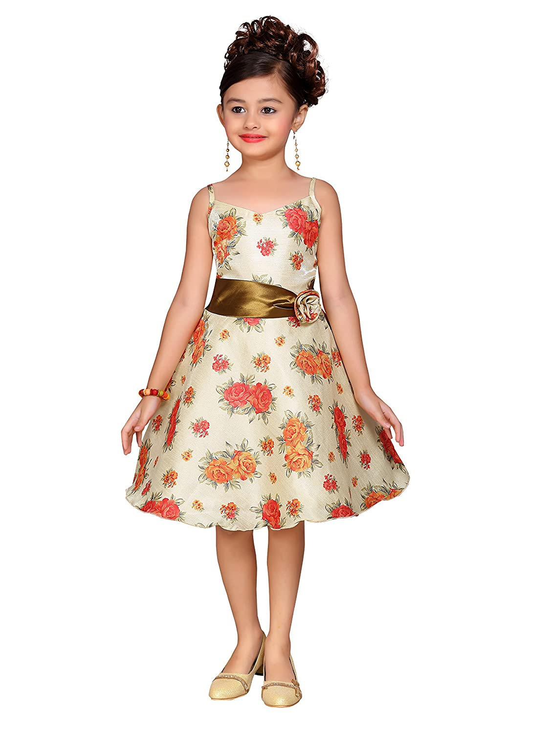 1f96d54070703 Fabric: Satin || Style: Empire Waist Dress, Fit Type: Regular Fit & Flare  Stylish and Trendy || Ideal for Festive Event, Functions, Holiday &  Wedding, ...