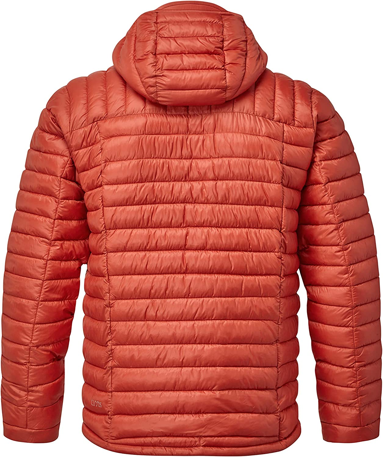 Rab Mens Nimbus Insulated Hooded Jacket Red Clay