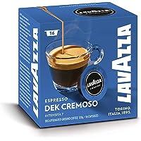 Lavazza A Modo Mio Dek Cremoso 16 Coffee Capsules