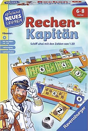 Ravensburger 00.024.972 Niños Juego de Mesa de Aprendizaje - Juego de Tablero (Juego de Mesa de Aprendizaje, Niños, 20 min, Niño/niña, 6 año(s), 8 año(s)): Knizia, Reiner: Amazon.es: Juguetes y juegos