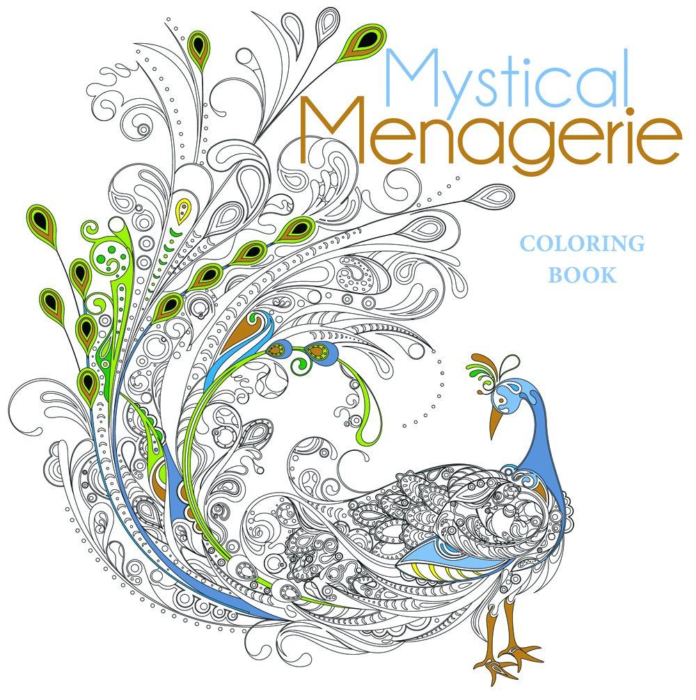 mystical menagerie coloring book lark crafts 9781454709381 amazoncom books - Ap Coloring Book