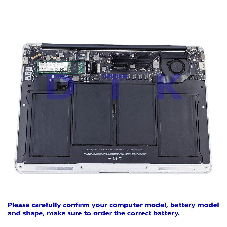 DTK Batería Reemplazo para MacBook Air 13