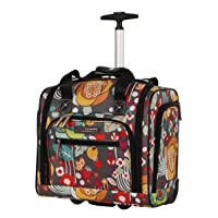 Lily Bloom Designer 15 Inch Carry On - Weekender Overnight Business Travel Luggage...