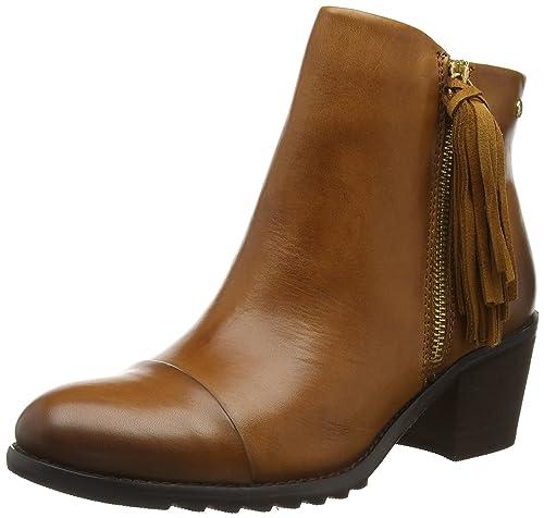 Pikolinos Andorra 913 - Botas para Mujer marrón marrón (Brandy) 36