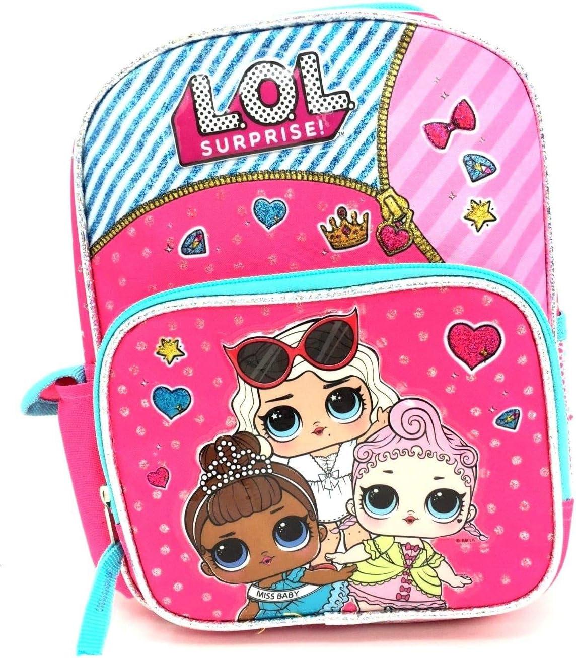 LOL Surprise Dolls School Book Bag