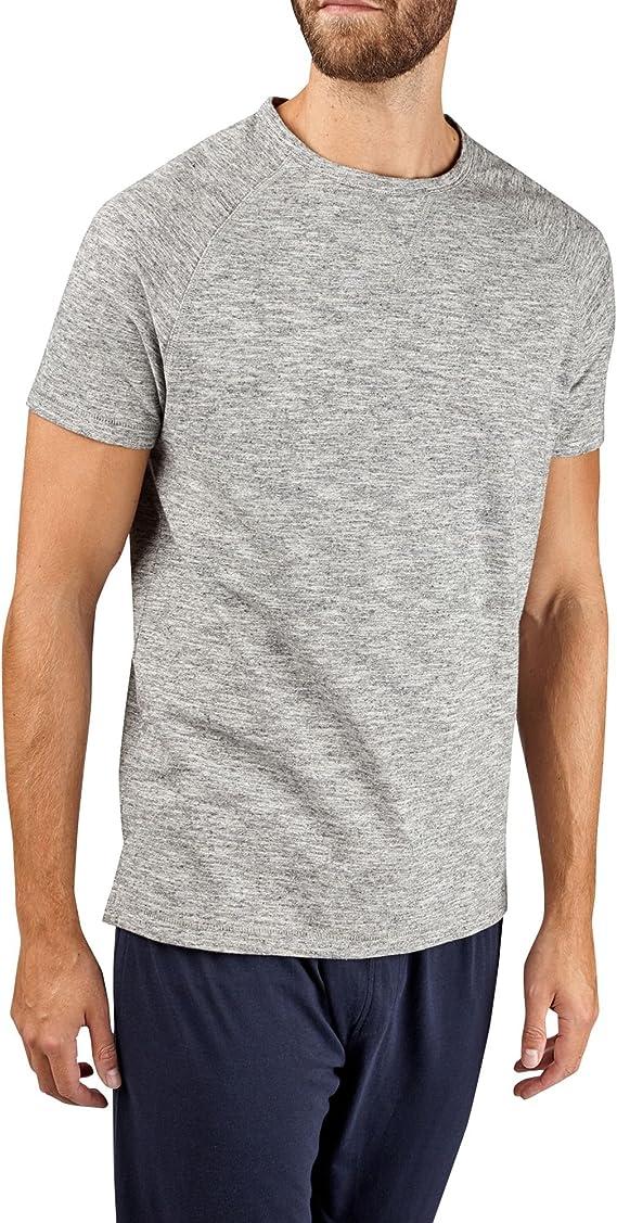 Burton Menswear London Raglan tee Camiseta de Pijama ...
