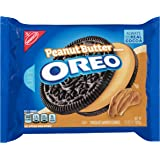 Oreo Peanut Butter Creme Chocolate Sandwich Cookies, 15.25 Ounce