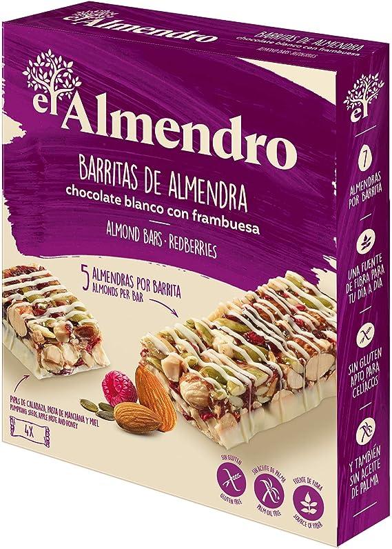 El Almendro - Barritas de Almendra, Chocolate Blanco y Frutos ...