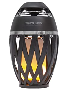 TikiTunes Portable Bluetooth Outdoor Speaker, LED Atmospheric Lighting Effect, 5-Watt Wireless USB Speaker iPhone/iPad/Android