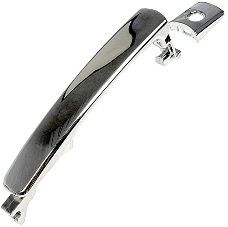 Attirant APDTY 92179 Exterior Door Handle W/ Keyhole Chrome Fits Front Left  2003 2007 Nissan