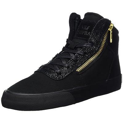 Supra Womens Womens Cuttler Black Black Shoes Size 5 | Fashion Sneakers