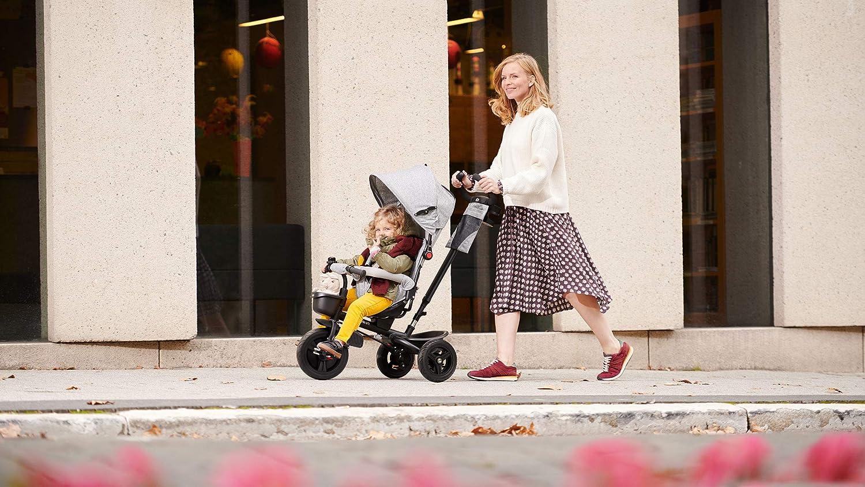 Kinderkraft Dreirad mit Stange