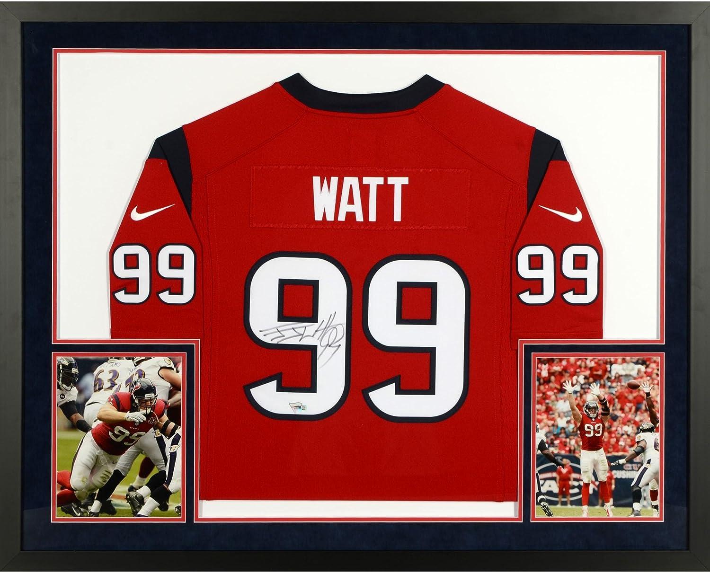 J.J. Watt Houston Texans SM Deluxe Framed Autographed Nike Limited ...