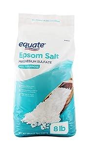 Epsom Salt 8 lbs. Magnesium Sulfate USP Multi-Purpose - Resealable bag