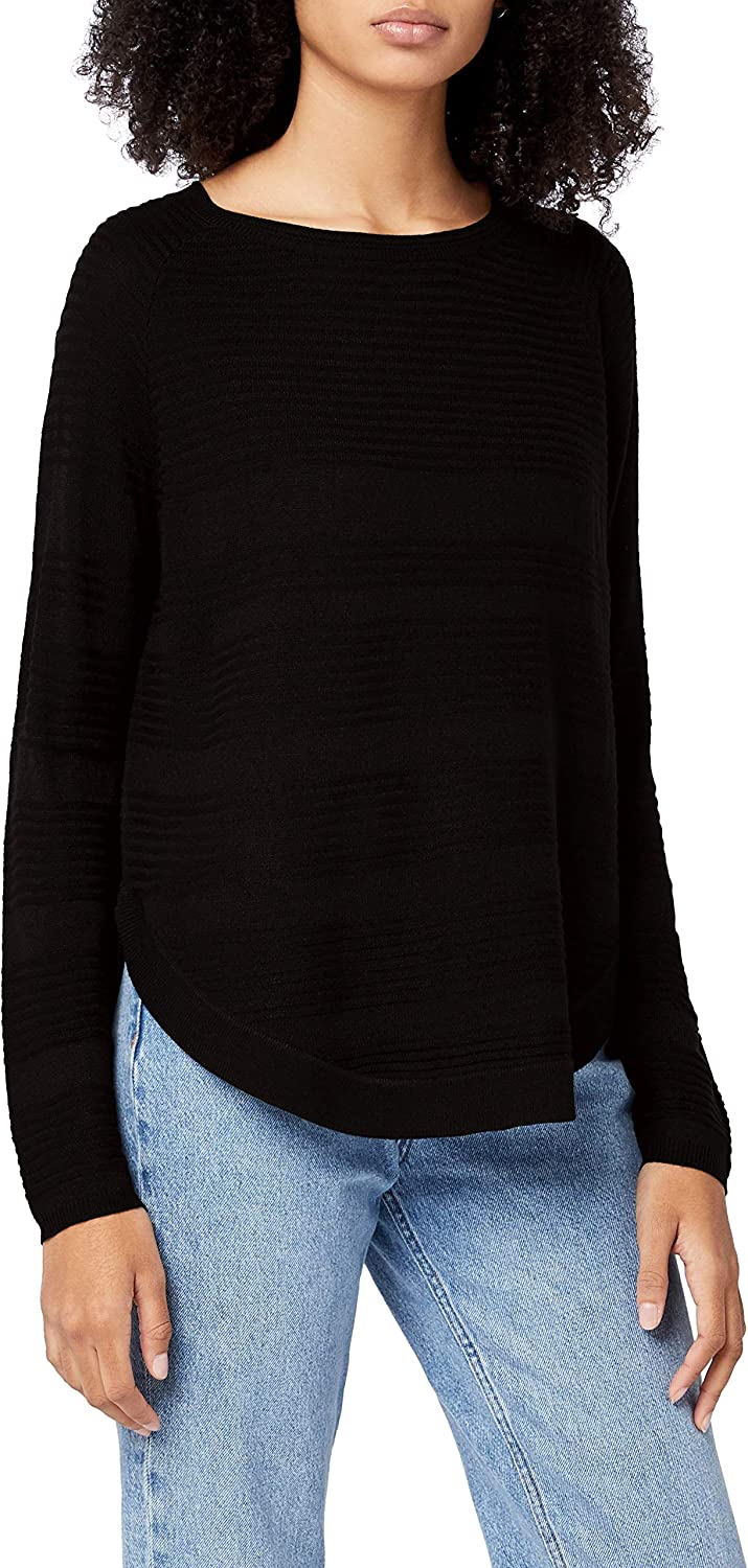 Only Onlcaviar L//S Pullover Knt Noos Felpa Donna