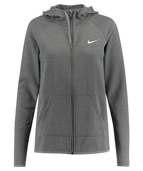 Nike W Nk Dry Hoodie Fz Sweatshirt für Damen, Farbe