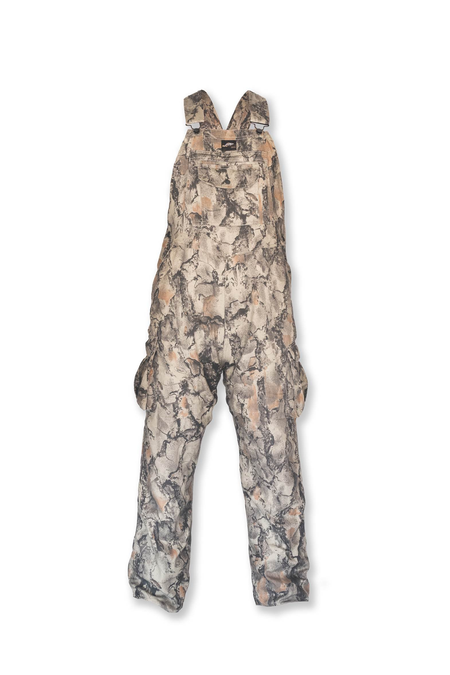 Natural Gear Camouflage Bib Overall for Men and Women, Non-Insulated, Cotton Poly Blend Hunting Coveralls for Warm Weather (XXL) by Natural Gear
