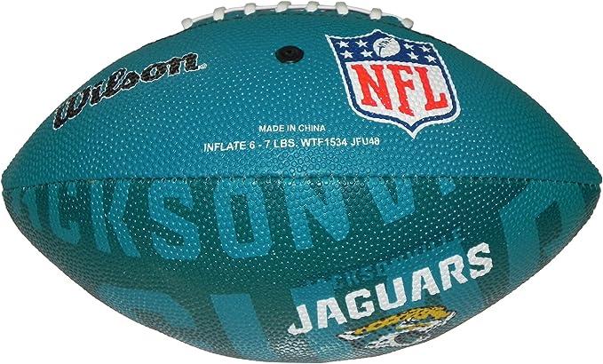 Wilson Football NFL Junior Jacksonville Jaguars Logo - Balón de ...