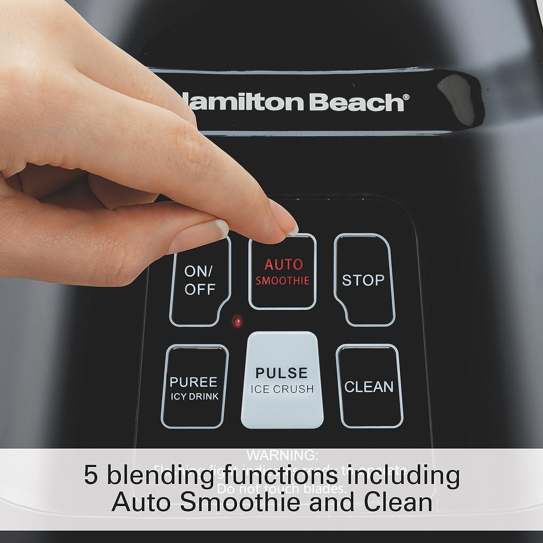 Amazon Hamilton Beach Smoothie Smart Blender With 40 Oz Glass