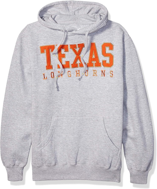 NCAA Texas Longhorns Mens Campus Classic Hoody Athletic Gray X-Large