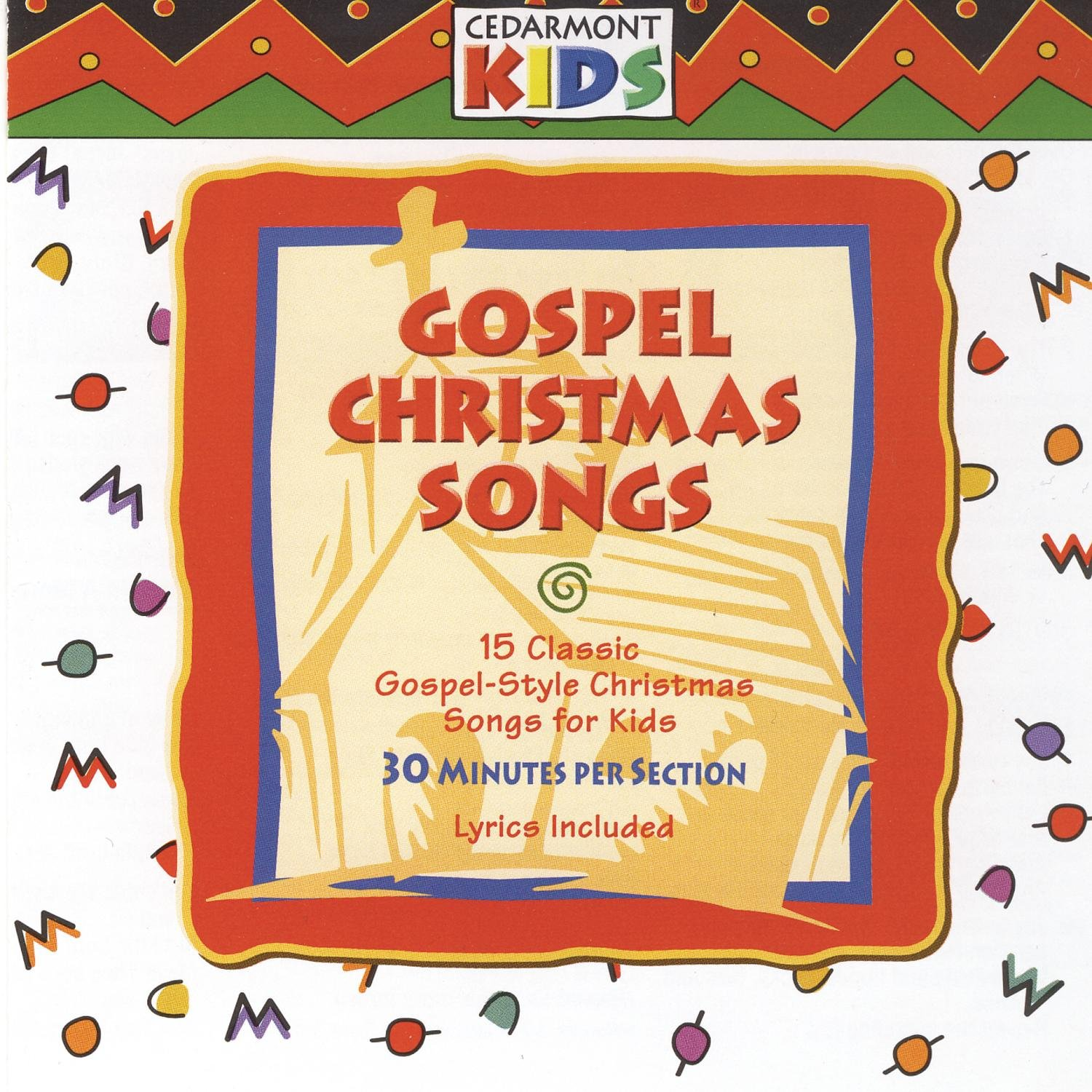 cedarmont kids gospel christmas songs amazoncom music - Christmas Songs For Kids